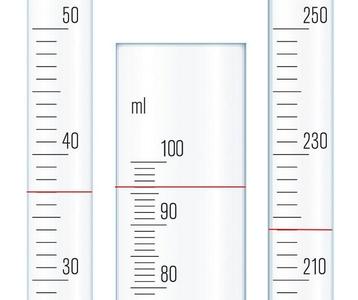 Mesures de volumes l 39 aide d 39 une prouvette gradu e - Mesurer hygrometrie d une piece ...
